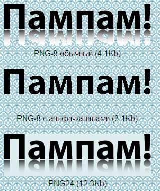 PNG картинки в IE